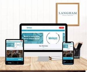 Unique Social Care - Virtual Website Assistant